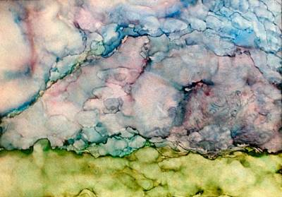 Turbulent Skies Mixed Media - Storms Brewing by Marie Haley-Twaddle