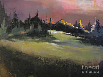 Oregon Painting - Storm's Reprieve by Melody Cleary