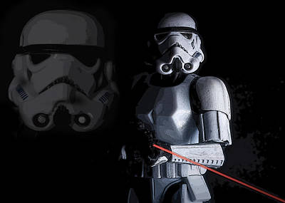 Return Of The Jedi Photograph - Stormtrooper by Larry Helms