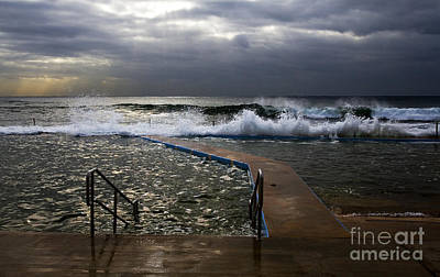 Stormy Morning At Collaroy Print by Avalon Fine Art Photography