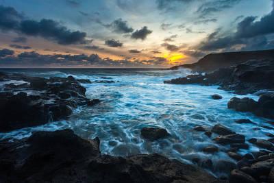 Turbulent Skies Photograph - Stormy Waters by Thorsten Scheuermann