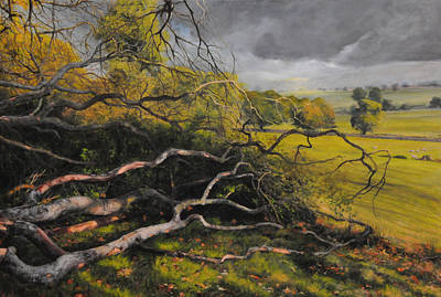 Painting - Stormy Weather by Harry Robertson