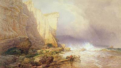 Inclement Painting - Stormy Weather by John Mogford
