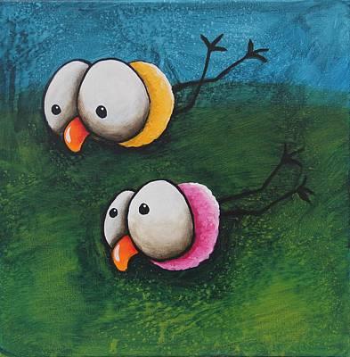 Stormy Weather Original by Lucia Stewart