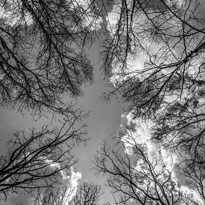 Reaching Up Digital Art - Straight Up Yo In Black And White by Daniel Dangler