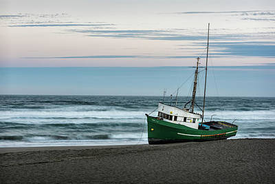 Water Vessels Photograph - Stranded by Jon Glaser