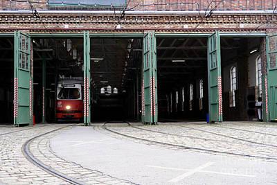 Cslanec Photograph - Cable Car by Christian Slanec