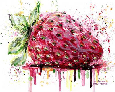 Strawberry 2 Original by Arleana Holtzmann