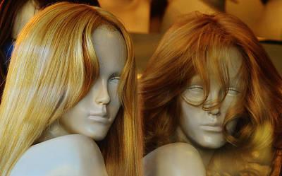 Strawberry Blond Blind Sisters Print by Robert Frank Gabriel