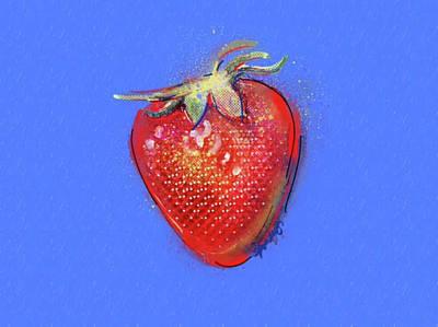 Strawberry Fields Forever Print by Stephanie Fonteyn