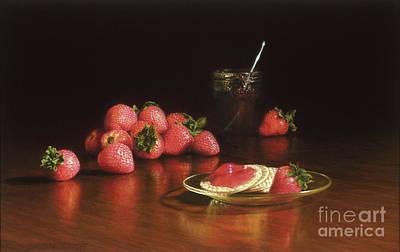 Strawberry Preserves Original by Barbara Groff