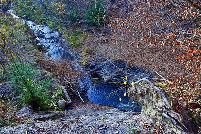 Stream. Next To Bran Castle - Dracula's Castle. Original by Andy Za