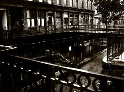 Street Below  Print by Marcin and Dawid Witukiewicz