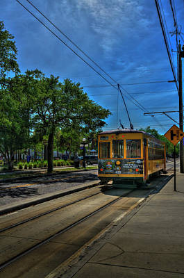 Street Car 435 Print by Marvin Spates