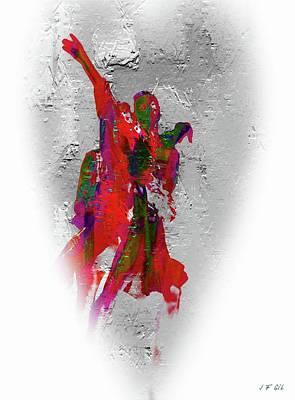 Long Street Digital Art - Street Dance 8 by Jean Francois Gil