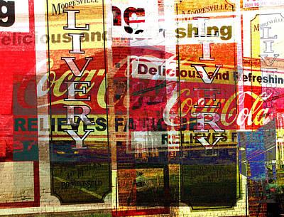 Livery Photograph - Street Print by MW Robbins