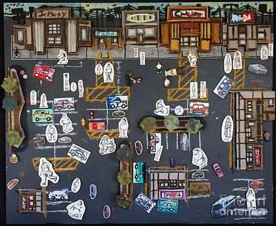 Parking Lot Original by Mack Galixtar