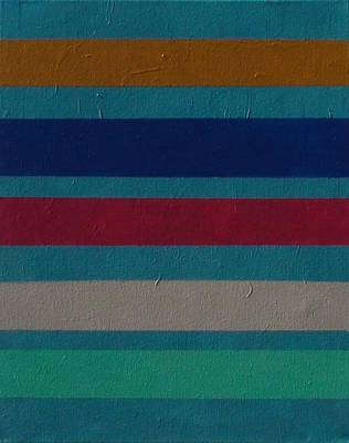 James Gallagher Painting - Stripes 6 by James Gallagher