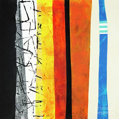 Mixed Media - Stripes by Elena Nosyreva