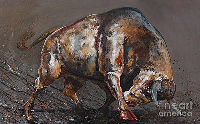 Strong Bull Original by Mark Ashcraft
