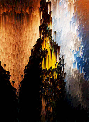 Yellowstone Digital Art - Strong Tower by Alix Rumble