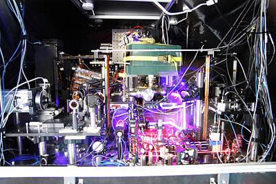 Strontium Photograph - Strontium Atomic Clock by Ye Group/Baxley/JILA