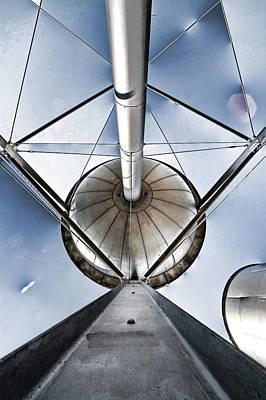 Photograph - Structure by Alan Skonieczny