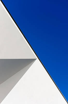 Light Blue Abstracts Photograph - Structured Illusion by Joao Custodio