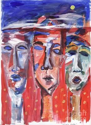 Dialog Painting - Struglle Dialog by Danarta Gondrong
