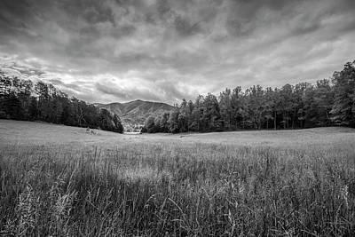 Smokey Sky Photograph - Stuck In The Field II by Jon Glaser