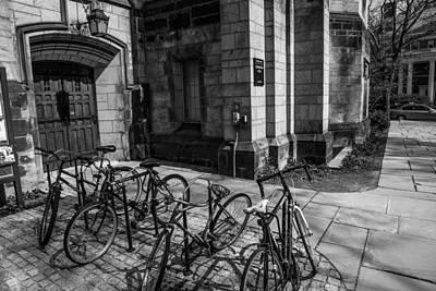 School Days Photograph - Student Parking by Karol Livote
