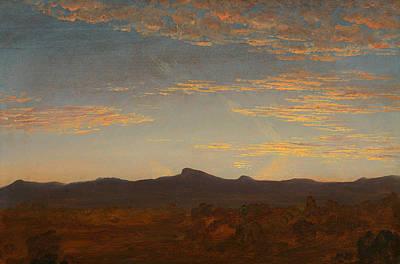 Catskill Painting - Study For Catskill Creek by Thomas Cole