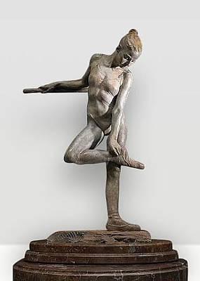 Richard Macdonald Sculpture - Study For The Rose by Richard MacDonald