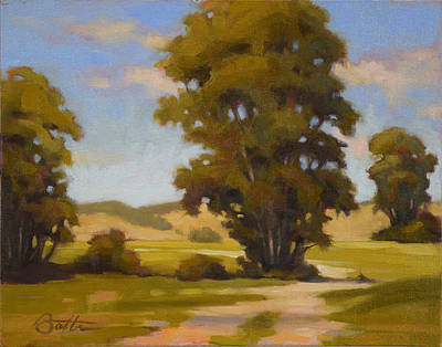 Study Of Trees Original by Todd Baxter