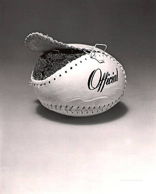 Baseball Photograph - Stuffing by Erich Grant