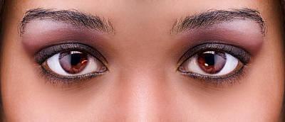 Black Russian Studio Photograph - Stunning Eyes by Val Black Russian Tourchin