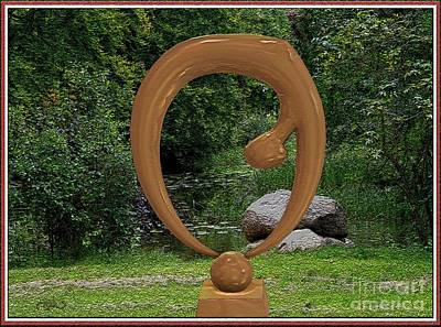 Stylized Sculpture 2 Original by Pemaro