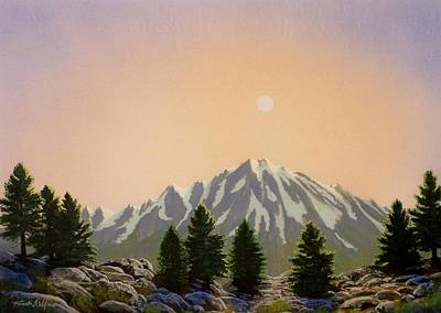Pacific Crest Trail Painting - Sublime Sierra Light by Frank Wilson