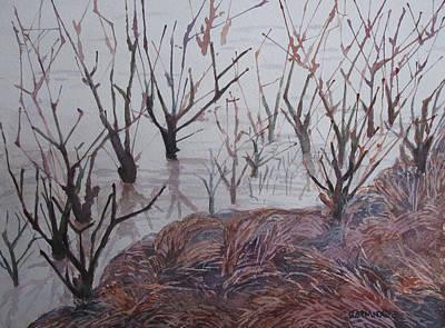 Flood Painting - Submerged I by Jenny Armitage