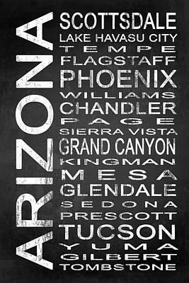 Grand Canyon Mixed Media - Subway Arizona State 1 by Melissa Smith