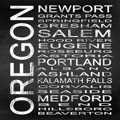 Eugene Digital Art - Subway Oregon State Square by Melissa Smith