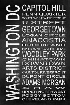 Washington D.c Mixed Media - Subway Washington Dc 1 by Melissa Smith