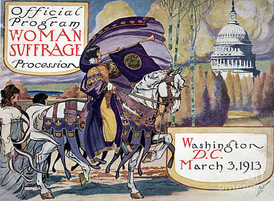 Suffragette Parade, 1913 Print by Granger