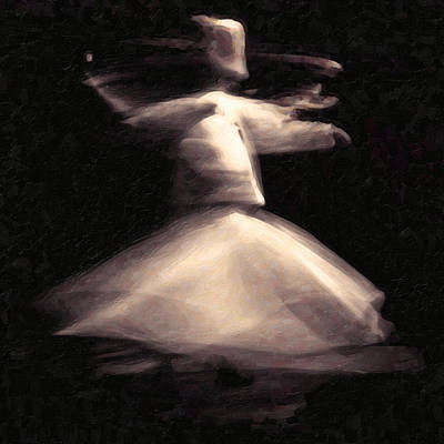 Rumi Painting - Sufism Art by MotionAge Designs