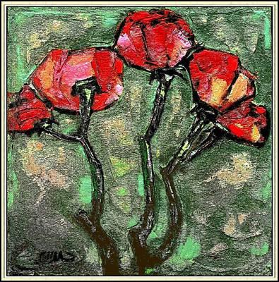 Suggestion Of Flowers Zb Original by Pemaro