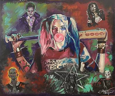 Margot Painting - Suicide Squad by Alana Meyers