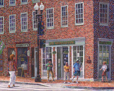 Store Photograph - Summer Afternoon On M Street by Susan Savad