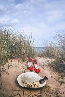 Summer At The Sea Print by Joana Kruse