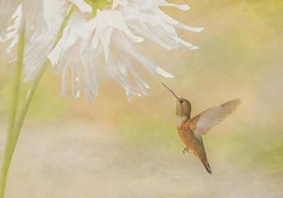 Summer Ballet Print by Angie Vogel