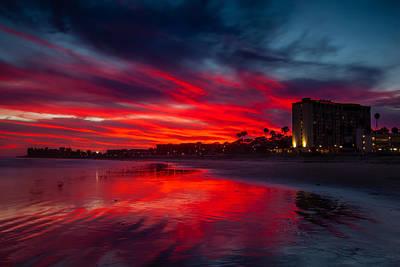 Ventura Photograph - Summer Blaze by Dan Holmes